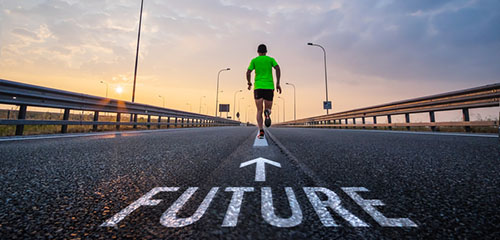 Run in the future